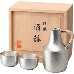 便利雑貨 本錫酒器セット 弥生 C8016019