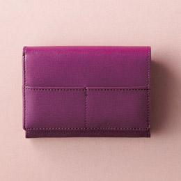 折り財布(パープル)