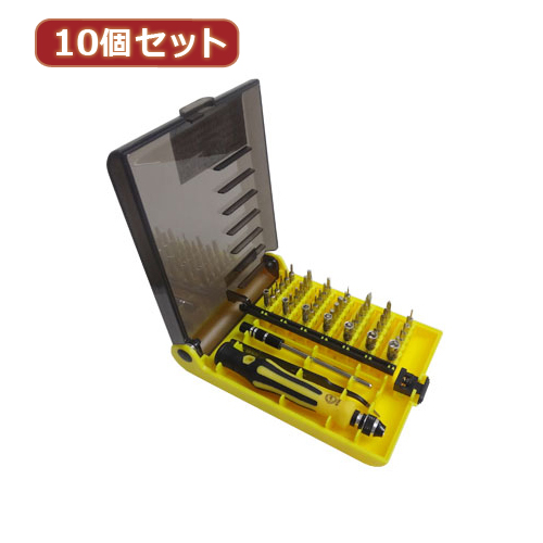 日用品 便利 ユニーク 変換名人 10個セット 特殊ドライバーセット DS45/AX10