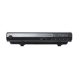便利雑貨 HDMI対応DVDプレーヤー (ケーブル無し) ブラック GH-DVP1C-BK