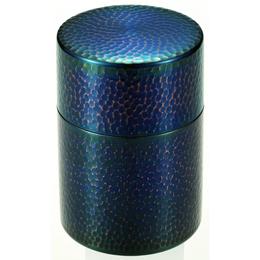 純銅青被仕上げ茶筒人気 商品 送料無料 父の日 日用雑貨