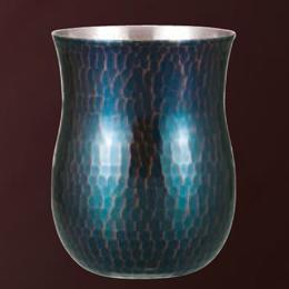 鎚目フリーカップ350ml 青被人気 商品 送料無料 父の日 日用雑貨