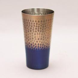 銅製鎚目タンブラー(小)満水容量約200mlおすすめ 送料無料 誕生日 便利雑貨 日用品