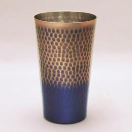 銅製鎚目タンブラー(中)満水容量約350ml人気 商品 送料無料 父の日 日用雑貨