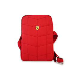 便利雑貨 Ferrari 公式ライセンス品 カメラバッグ(Ferrari CAMERA BAG V1 LARGE) FECALV1R
