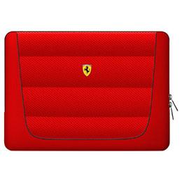 便利雑貨 Ferrari 公式ライセンス品 13インチノートパソコン用バッグ レッド FECS13RE