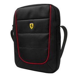 便利雑貨 Ferrari 公式ライセンス品 10インチタブレット用バッグ FESH10BK