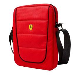便利雑貨 Ferrari 公式ライセンス品 10インチタブレット用バッグ FESH10RE