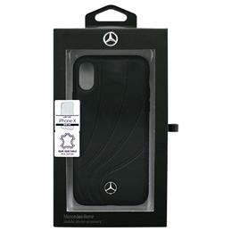 生活関連グッズ iPhoneX専用 本革ハードケース ORGANIC II - Genuine leather Hard Case - Black iPhone X MEHCPXDCLBK