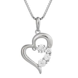 便利雑貨 アクセサリー D-3stone Heart NYP-585