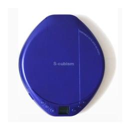 ポータブルCDプレーヤー パープル 便利雑貨 AC-P02PU