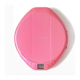 便利雑貨 ピンク AC-P02PK ポータブルCDプレーヤー