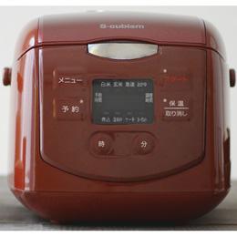 便利雑貨 4合炊きマイコン式炊飯器 レッド SCR-H40R