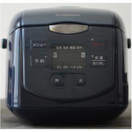 便利雑貨 4合炊きマイコン式炊飯器 ネイビー SCR-H40N