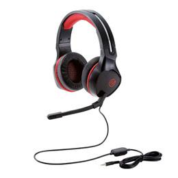 ゲーミングヘッドセット/両耳オーバーヘッド/4極ミニプラグ/50mmドライバ/極厚イヤーパッド/コントローラ付属/ブラック HS-G01BKオススメ 送料無料 生活 雑貨 通販