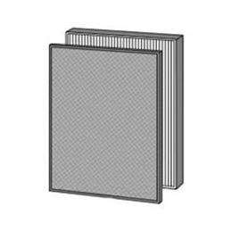 便利雑貨 交換用空気清浄フィルターセット (集じん・脱臭) FZ-L40F