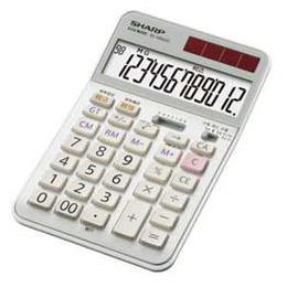 便利雑貨 実務電卓(ナイスサイズタイプ) EL-N942C-X