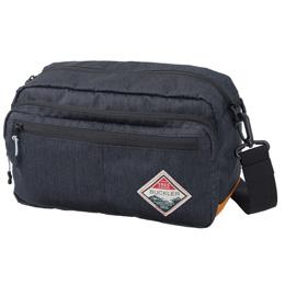 便利雑貨 バックラー ウエストショルダー ブラックVE-3521