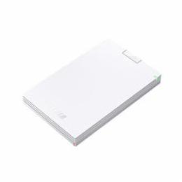 便利雑貨 ミニステーション USB3.1(Gen1)/USB3.0 ポータブルHDD 1TB ホワイト HD-PCG1.0U3-BWA