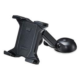流行 生活 雑貨 タブレット用車載ホルダー(オンダッシュタイプ) CAR-HLD7BK