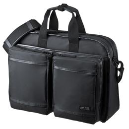 便利雑貨 サンワサプライ 超撥水・軽量PCバッグ(3WAYタイプ) BAG-LW10BK