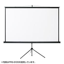 便利雑貨 サンワサプライ プロジェクタースクリーン(三脚式) PRS-S75