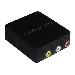 HDMI→コンポジット変換器 電源不要タイプ HDCV-001 HDCV-001おすすめ 送料無料 誕生日 便利雑貨 日用品