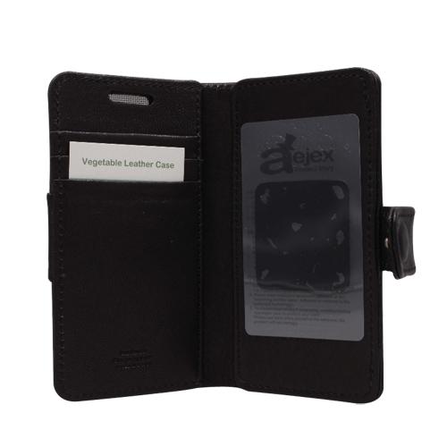 流行 生活 雑貨 高級羊革スマートフォン用ケース D3シリーズ BLACK AS-AJD3-BK
