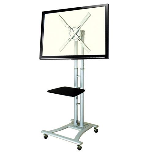 生活関連グッズ サンコー 大型TV移動式スタンド(縦置き・横置き両対応) MARM862GA