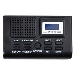 お役立ちグッズ サンコー 電話機に後付けできる通話録音再生機「通話自動録音BOX」 TLPRC38B