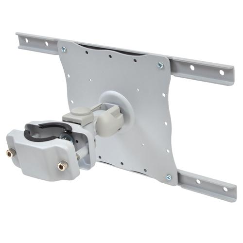 生活関連グッズ サンコー 大型モニター用2軸式アームポールマウント(VESA400x200対応) MARM126CS