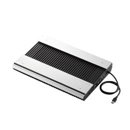 便利雑貨 エレコム USB3.0ハブ付きノートPC用クーラー(高耐久性×極冷) SX-CL24LBK