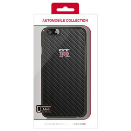 便利雑貨 GT-R CARBON HARD CASE iPhone6 PLUS用 NR-P55S1BK