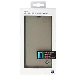お役立ちグッズ BMW Booktype case Bicolor Gray/Black iPhone6 PLUS用 BMFLBKP6LCLT