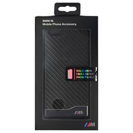 便利雑貨 BMW PC Hard case Carbon & Aluminium finish Black iPhone6 PLUS用 BMHCP6LMDCB