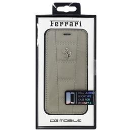 便利雑貨 フェラーリ 458 Dark Gray Leather Booktype Case iPhone6 用 FE458FLBKP6GR