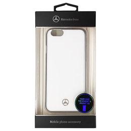 便利雑貨 メルセデス-Benz Dynamic メタリックハードケース ホワイト iPhone6 用 MEHCP6WH