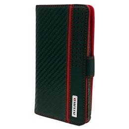便利雑貨 NISMO Universal Book Type Case for Smartphone Leather S Size NM-SAM1BK
