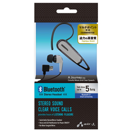 便利雑貨 Bluetoothステレオイヤホンマイク SL BT-A7SL