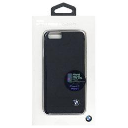 便利雑貨 BMW  Genuine Leather Hard Case - Black iPhone 6/6S BMHCP6GSBK