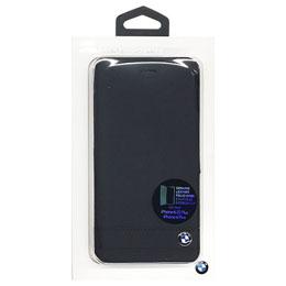 便利雑貨 BMW Genuine Leather Leather Booktype Case Plus - BMW Black iPhone 6/6S Plus BMFLBKP6LGSBK, ヤマガタムラ:ccb7e38d --- rakuten-apps.jp