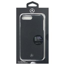 便利雑貨 メルセデス WAVE II Genuine Leather - Perforated Hard Case - Black MEHCP7LCSPEBK