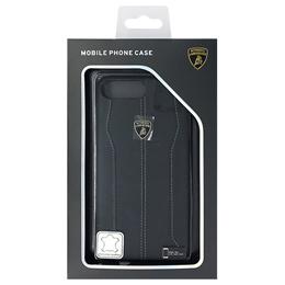 ランボルギーニ Genuine leather back cover - Black LB-HCIP7P-HU/D1-BK
