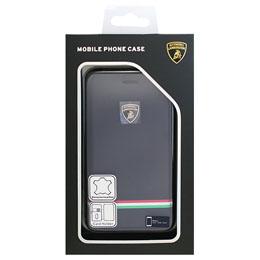 生活関連グッズ ランボルギーニ iPhone7専用本革手帳型ケース Genuine Leather Ultra Slim Flip Case - Blue LB-SSFCIP7-TR/D8-BE