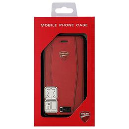 ドゥカティ iPhone7専用本革手帳型ケース Genuine Leather Flip Case - Red DU-TPUFCIP7-DI/D1-RD人気 お得な送料無料 おすすめ 流行 生活 雑貨