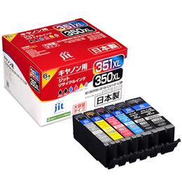 サンワサプライ リサイクルインクカートリッジBCI-351XL+350XL/6MP対応 JIT-AC3503516PXL