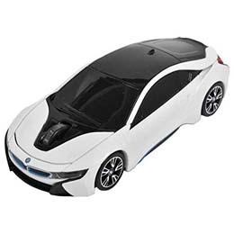 お役立ちグッズ BMW i8シリーズ 無線カーマウス 2.4Ghz 1750dpi ホワイト BM-Pi8-WH