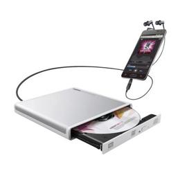日用品 な全国一律 便利 Android用CD録音ドライブ/USB2.0/Type-C変換アダプタ付属/ホワイト LDR-PMJ8U2RWHお得 送料無料 ユニーク