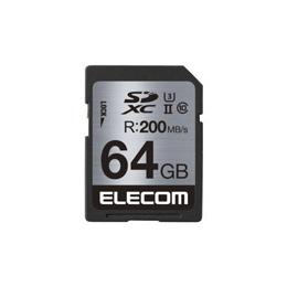 便利雑貨 UHS-/U3対応SDXCメモリカード MF-FS064GU23R