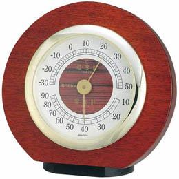お役立ちグッズ 温度・湿度・気圧計 トリオ気象計 置用 BM-633